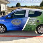 Action Lawn Car Wrap FoxPrint