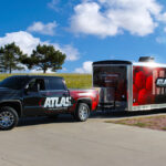 Atlas Hydraulics Truck and Trailer Wrap FoxPrint