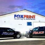 Brandon South Dakota Police Decals FoxPrint