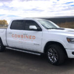 Combined Pool & Spa Truck Decals FoxPrint