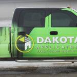 Dakota Applicators Truck Wrap FoxPrint