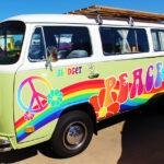 Hippie Van Decals FoxPrint