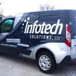 Infotech Partial Vehicle Wrap