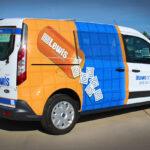 Lewis Drug Delivery Van Wrap FoxPrint