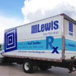 Lewis Drug Box Truck Wrap FoxPrint Sioux Falls