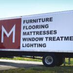 Montgomery's Box Truck Decals FoxPrint