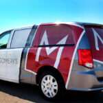 Montgomery's Sioux Falls Vehicle Wrap FoxPrint