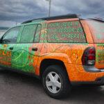 Next2New Vehicle Wrap FoxPrint