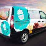 Oh My Cupcakes! Van Spot Graphics FoxPrint