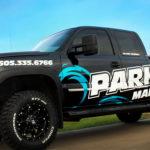Parks Marina Truck Decals FoxPrint