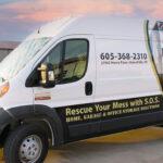 Save Our Space Partial Van Wrap FoxPrint