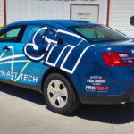 STI Vehicle Wrap FoxPrint
