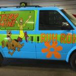 Mystery Machine Vehicle Wrap FoxPrint