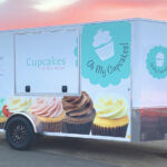 Oh My Cupcakes! Trailer Decals